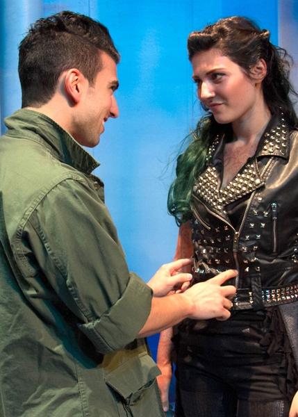 Gasper Gray as Loser Boy and Elena Murray as Dragon Girl