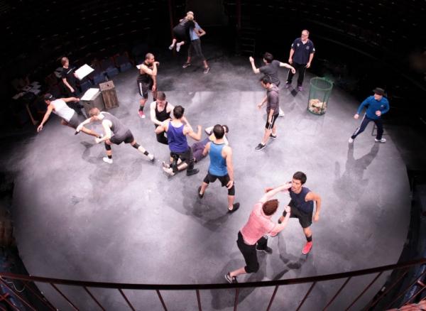 Photos: Sneak Peek at Carolann M. Sanita, German Alexander and More in Rehearsals for WEST SIDE STORY at Music Circus