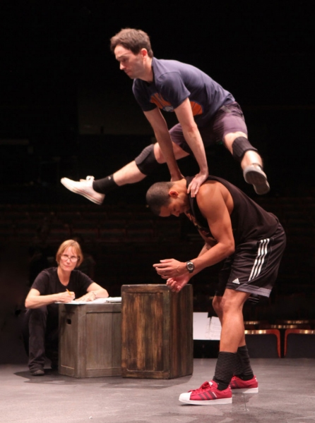 Choreographer, Diane Laurenson, Garett Hawe and Thay Floyd