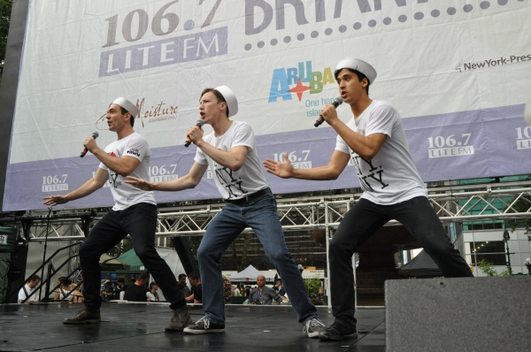 Photo Coverage: Casts of MATILDA, ON THE TOWN & More Perform in Bryant Park!
