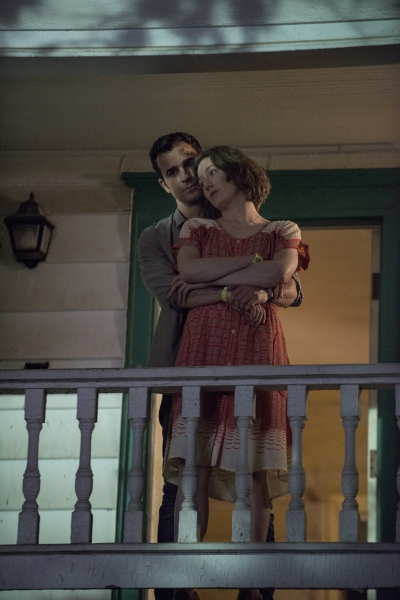 Justin Theroux as Kevin Garvey; Carrie Coon as Nora Durst Photo