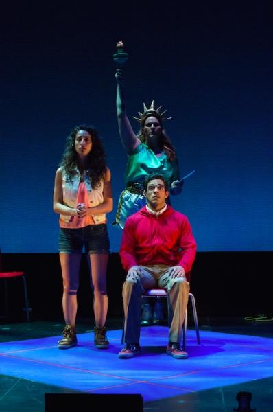 Alicia Taylor Tomasko, Shakina Nayfack, and Performer Photo