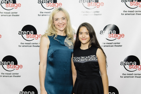 Rachel Bay Jones and daughter Miranda
