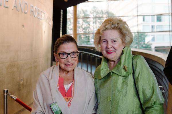 Justice Ruth Bader Ginsburg and Beth Newburger Schwartz Photo