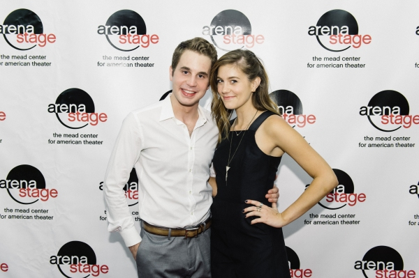 Ben Platt and Laura Dreyfuss