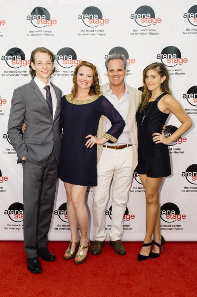 Mike Faist, Jennifer Laura Thompson, Michael Park and Laura Dreyfuss
