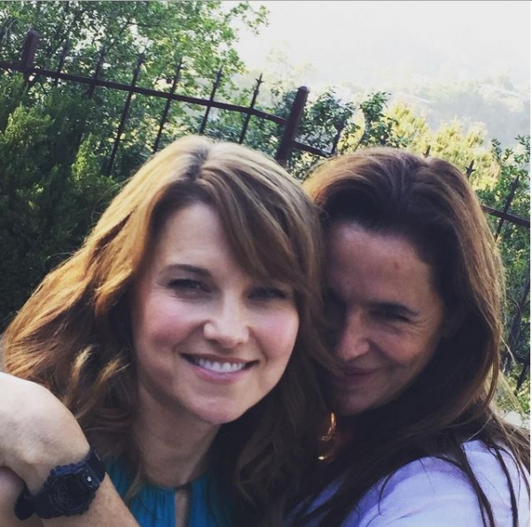 Lucy Lawless, Claire Stansfield Photo
