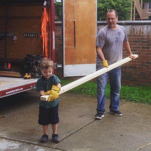 Dan Cooney and Son Gavin Photo