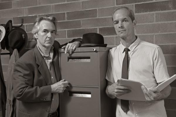 Michael Joseph Mitchell as Hillel Levin and Mark Ulrich as FBI agent Zack Shelton Photo