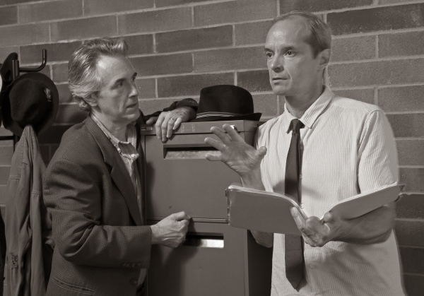 Michael Joseph Mitchell as Hillel Levin and Mark Ulrich as FBI agent Zack Shelton