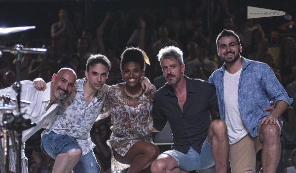 Chema Perez, Abel Franco, Mireia Mambo, Paco Bastante y Felipe Forastiere