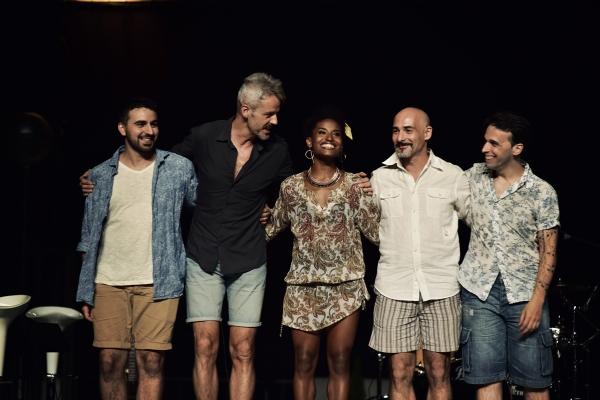 Felipe Forastiere, Paco Bastante, Mireia Mambo, Chema Perez y Abel Franco