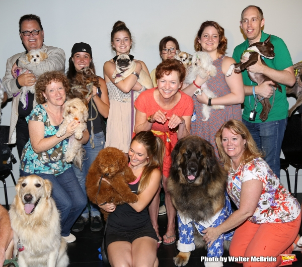 Photo Coverage: Calling All Dogs! SYLVIA Team Seeks a K-9 Counterpart for Annaleigh Ashford!