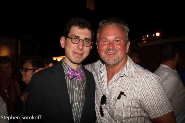 Aaron Weinstein & Sam Harris Photo