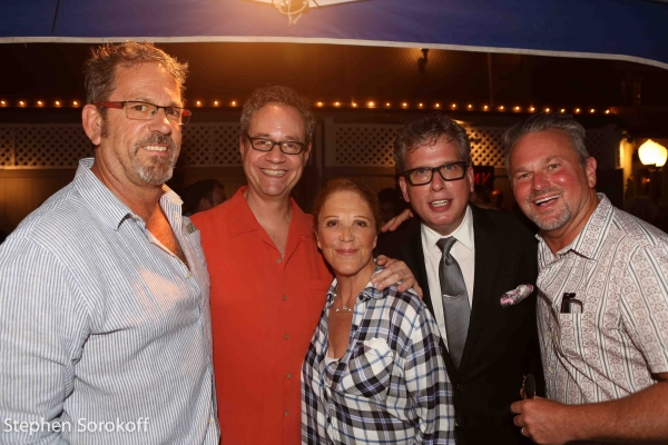 Rick Murray, Mark Sendroff, Linda Lavin Billy Stritch, Sam Harris