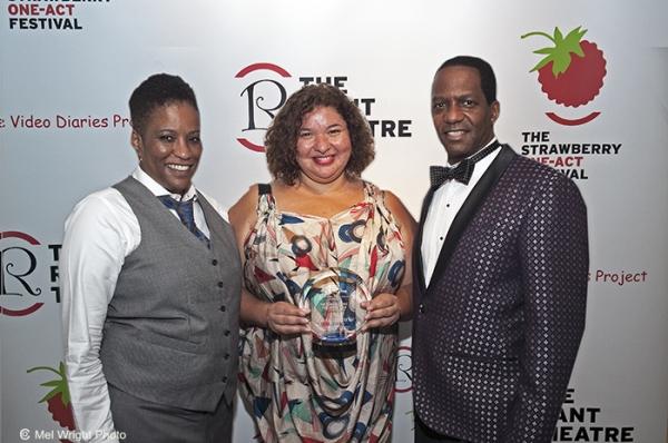 Playwright Tracey Scott Wilson, director Liesl Tommy, Van Dirk Fisher Photo