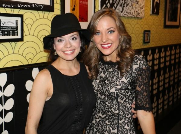 Alexandra Zorn and Laura Osnes
