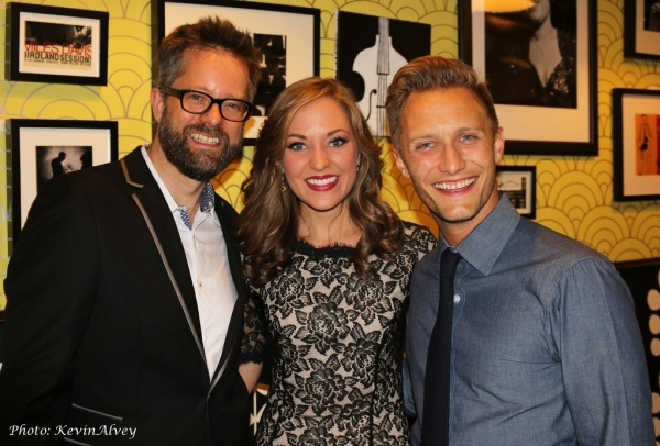Fred Lassen, Laura Osnes and Nathan Johnson