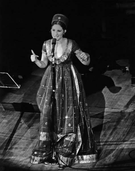 Photo Flash: More Shots! Barbra Streisand Sports Designs by Arnold Scaasi