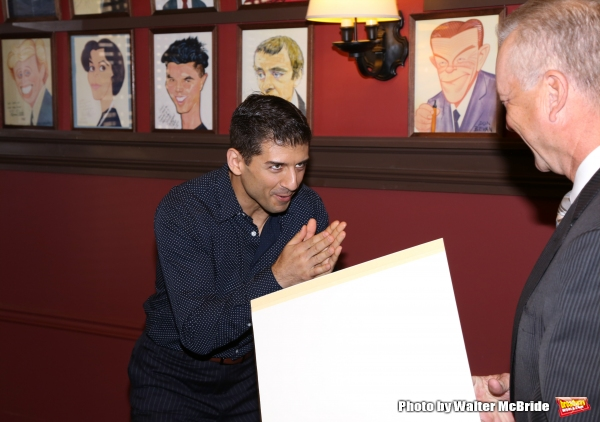 Photo Coverage: A Helluva Guy- ON THE TOWN's Tony Yazbeck Honored with Sardi's Caricature