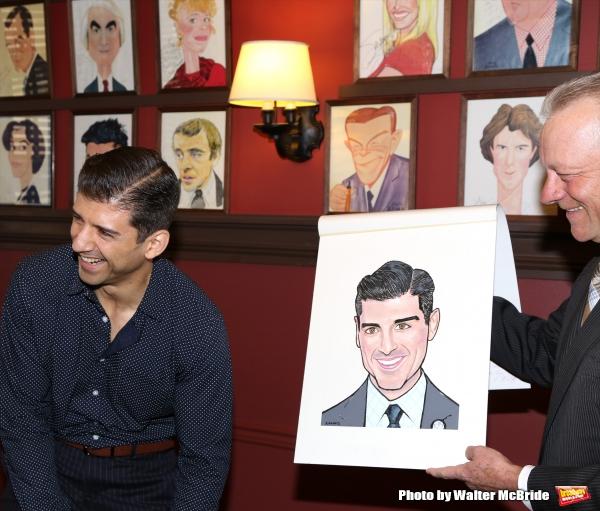 Max Klimavicius with Tony Yazbeck