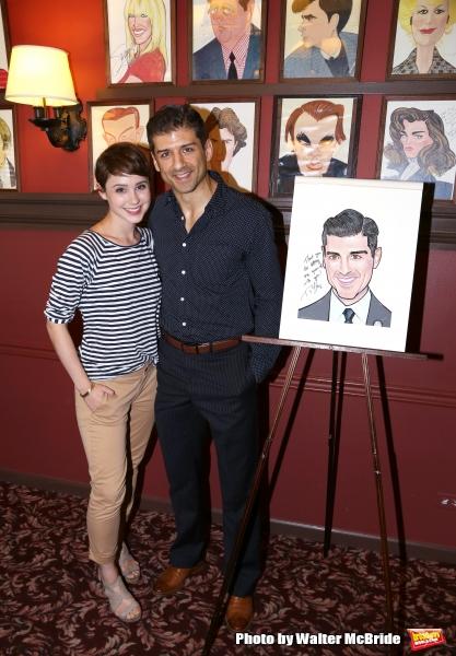Katie Huff with Tony Yazbeck