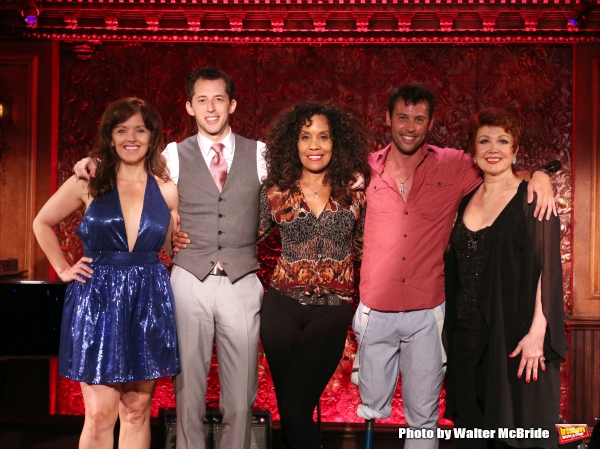 Alice Ripley, Josh Grisetti, Cheryl Freeman, Evan Ruggiero and Donna McKechnie