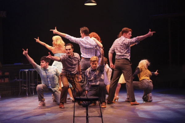 Photo Flash: First Look at Justin Matthew Sargent, Carolann M. Sanita and More in WEST SIDE STORY at Music Circus