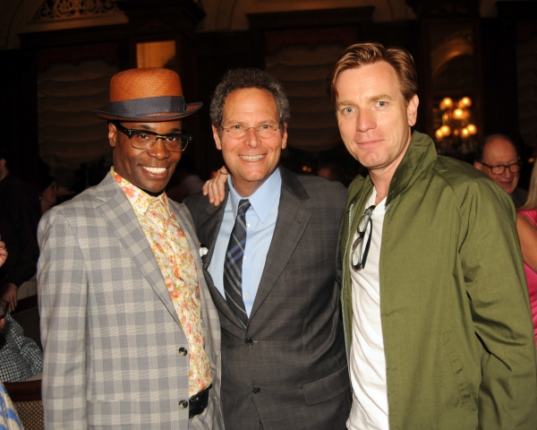 Billy Porter, Van Kaplan, Ewan McGregor