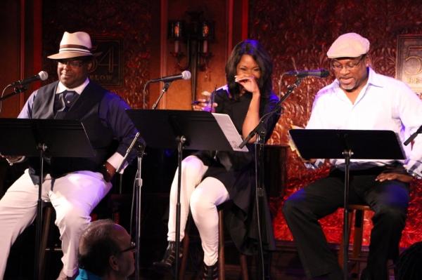 Trent Armand Kendall, Angela Robinson & Kingsley Leggs Photo