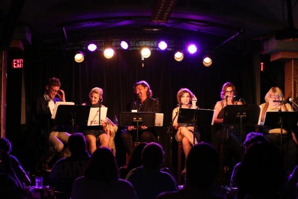 Barrett Foa, Annaleigh Ashford, Robin Atkin Downes, Daisy Eagan, Lori Alan & Bruce Vi Photo