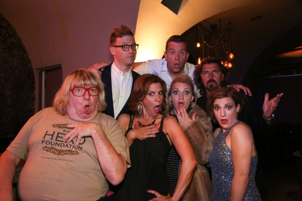 Barrett Foa & Billy Mitchell. Bruce Vilanch, Lori Alan, Annaleigh Ashford, Robin Atkin Downes & Daisy Eagan