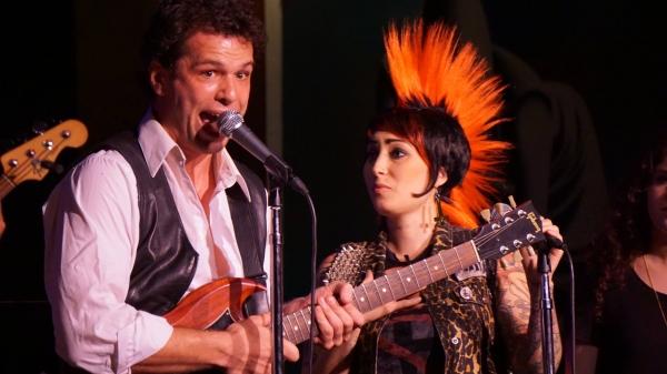 Michael Siktberg and Giuliana De Pietro.