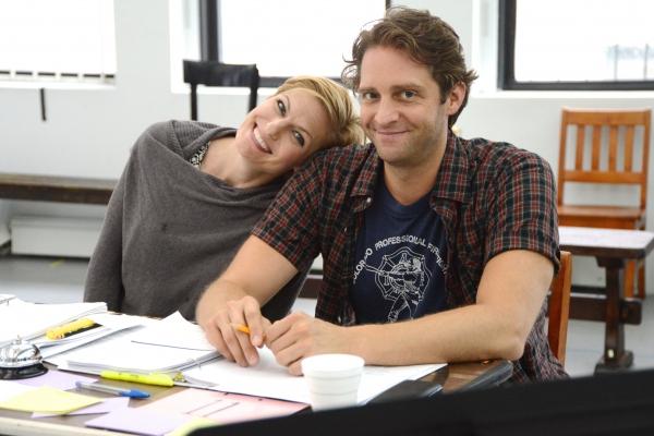 Director Jessica Stone and cast member Colin Hanlon