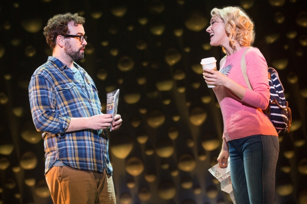 Matt Bittner and Betsy Wolfe