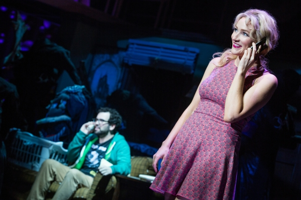 Photo Flash: First Look at Betsy Wolfe and Matt Bittner in New Robert & Kristen Lopez Musical UP HERE at La Jolla Playhouse