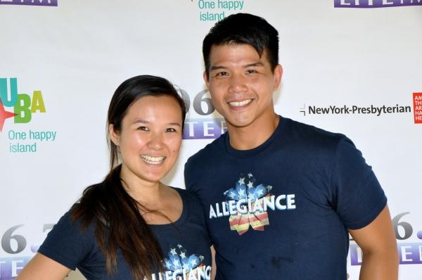 Elena Wang and Telly Leung