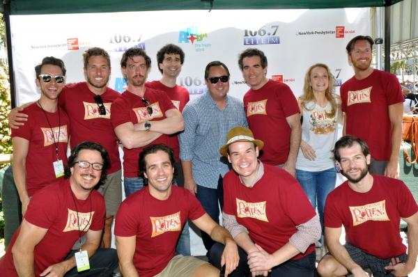 Rich Kaminski joins Christian Borle, John Cariani, Brian d'Arcy James, Kate Reinders