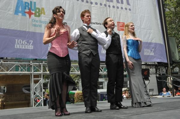 Kathy Voytko, Mark Ledbetter, Greg Jackson and Kristen Hahn Photo