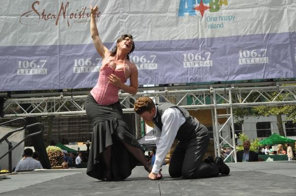 Kathy Voytko and Mark Ledbetter