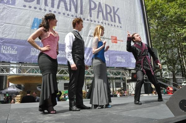 Kathy Voytko, Mark Ledbetter, Kristen Hahn and Greg Jackson Photo