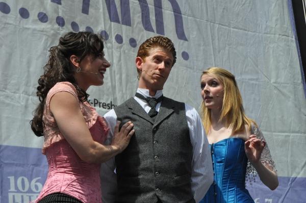 Kathy Voytko, Mark Ledbetter and Kristen Hahn