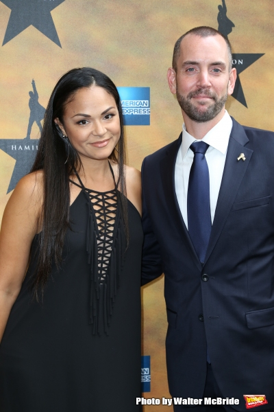 Karen Olivo and husband