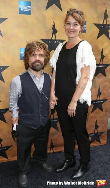 Peter Dinklage and wife Erica Schmidt