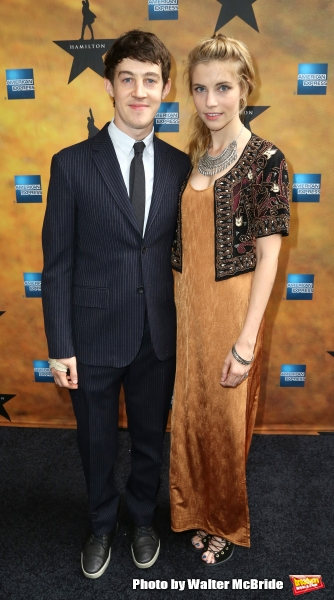 Alex Sharp and Wallis Currie-Wood