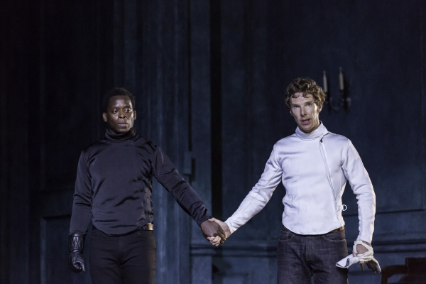 Kobna Holdbrook-Smith, Benedict Cumberbatch