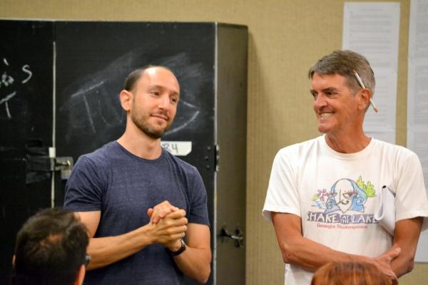 Andrew Benator and Chris Kayser