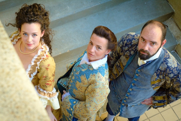 Photo Flash: Meet the Cast of Circle Theatre's LOVERS AND EXECUTIONERS