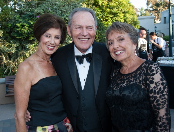 Ann Davies and Hal and Pam Fuson