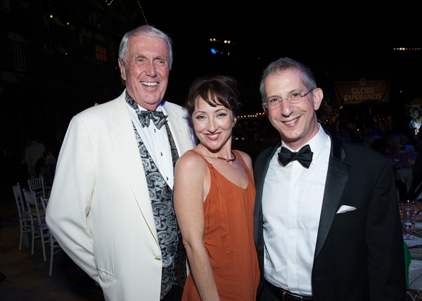 Harvey White, Carmen Cusack, and Barry Edelstein